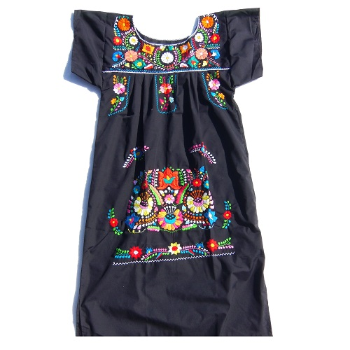 Robe Mexicaine - Taille M - Noire II