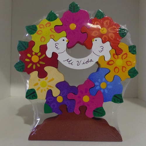 Puzzle Couronne Mexicaine