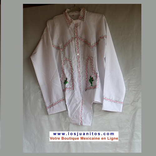 Chemise Mexicain - Taille 3XL - Homme