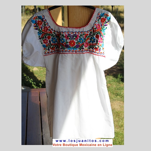 Blouse Mexicaine - Taille S