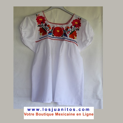 Blouse Mexicaine - Taille XS