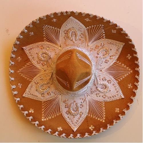 Sombrero Mexicano de Mariachi - Productos Mexicanos Online 31b8e321dde