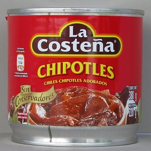 Piment Chipotle - 380g - La Costeña