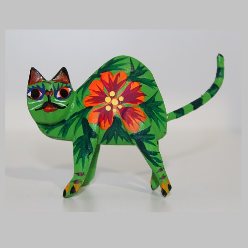 Alebrije Mexicain - Chat