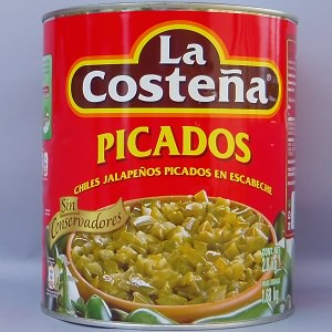 Piment Jalapeño Coupé - 2800g - La Costeña