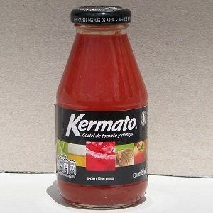 Cocktail de tomate et palourde - 250ml - Kermato