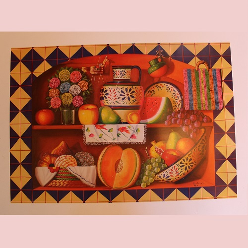 Poster Mexicain - Cuisine Mexicaine No 3