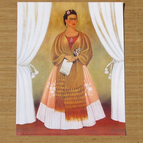 lithographie mexicaine frida kahlo 4 decoration mexicain boutique mexicaine article mexicain. Black Bedroom Furniture Sets. Home Design Ideas