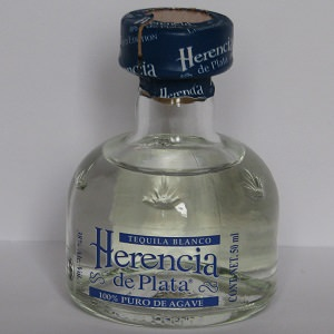 Mini Tequila Blanc - Herencia de Plata - 50ml
