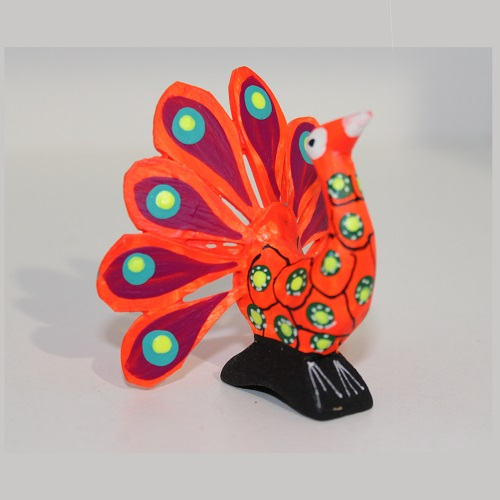 Alebrije Mexicain - Paon Royal