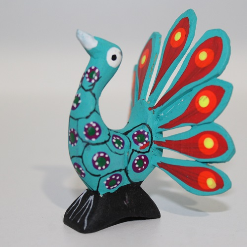 Alebrije Mexicain - Paon Royal II