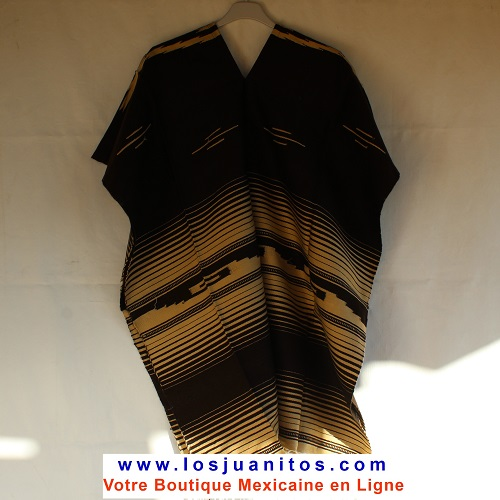 Poncho Mexicain - Marron