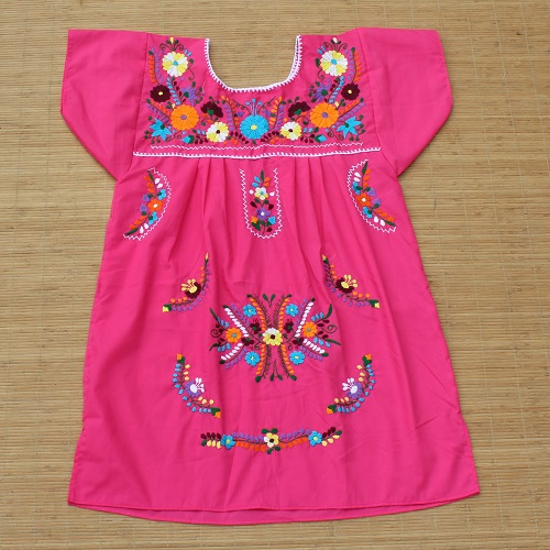 Mini Robe Mexicaine