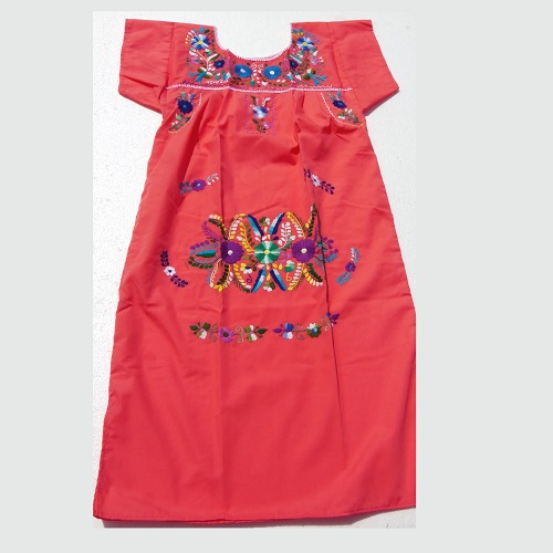 Robe Mexicaine - Taille XS - Rose