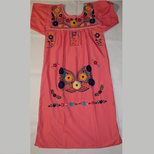 Robe Mexicaine - Taille M - Rose 1