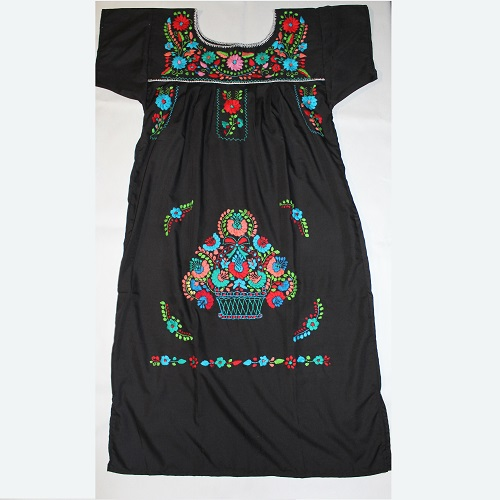 Robe Mexicaine - Taille M - Noire