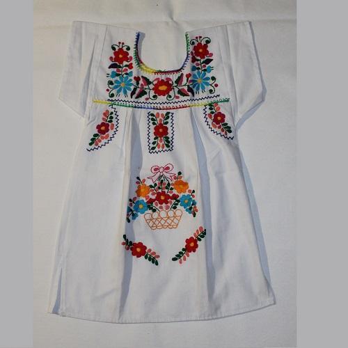 95afdbacf Vestidos Mexicanos Niña - Producto Mexicano Online