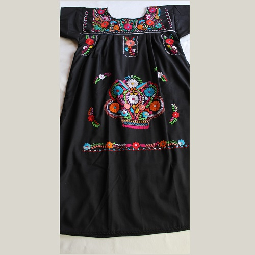 Robe Mexicaine - Taille XL - Noirée II