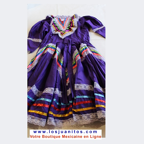Robe Mexicaine - Jalisco - Violette