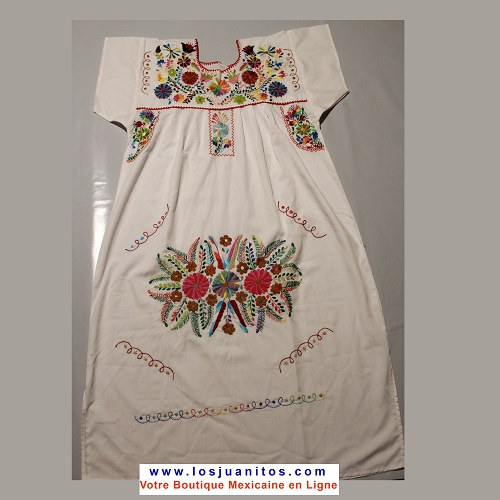 Robe Mexicaine Tehuacan Enfant