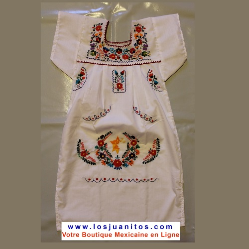 Robe Mexicaine - Taille 6 ans
