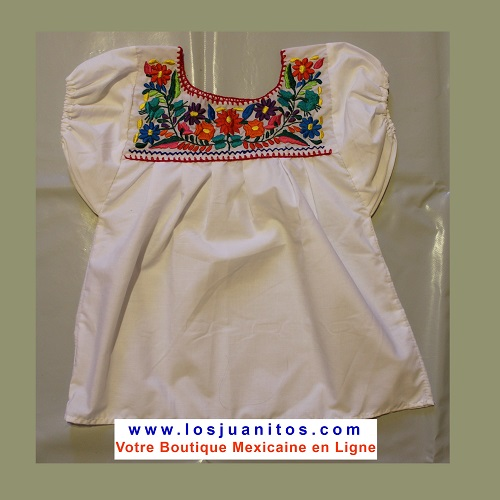 Blouse Mexicaine - Taille 6 ans