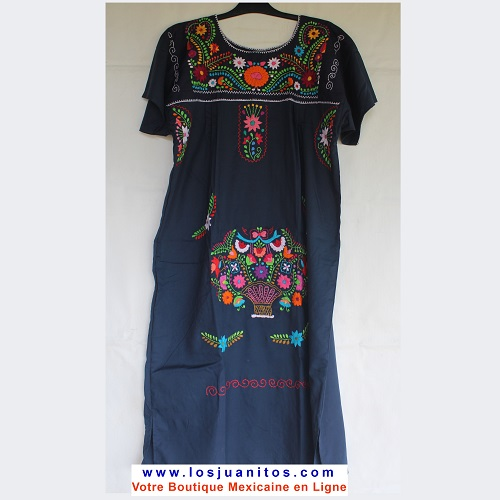 Robe Mexicaine - Taille XL - Bleue III