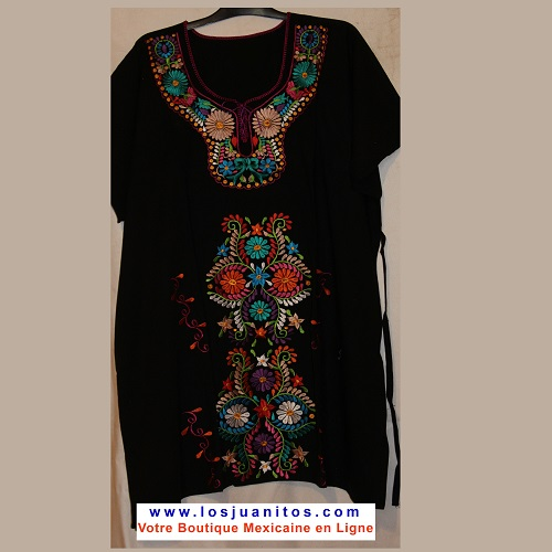 Mini Robe Mexicaine - Taille 4XL - Noire