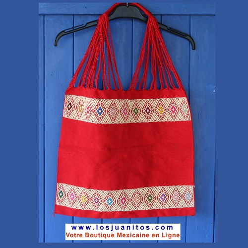 Sac Mexicain - Rouge