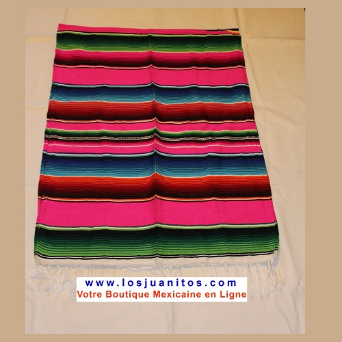Sarape Mexicain - Rose