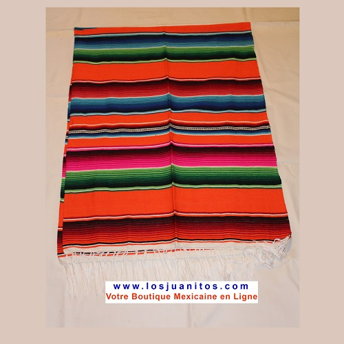Sarape Mexicain - Orange