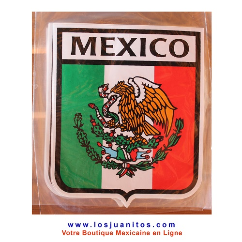 Calcomania de la Bandera Mexicana