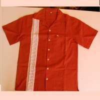 Chemise Homme - Taille XL - Orange