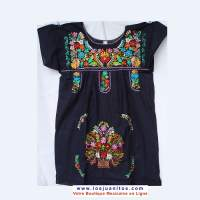 Robe Mexicaine Brodée